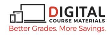 Digital Course Materials logo